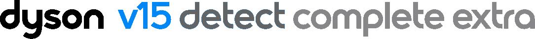 dyson v15 detect complete extra logo