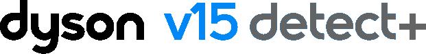 Dyson V15 Detect+ logo