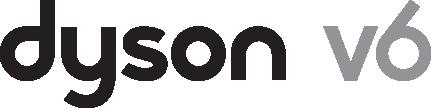 Dyson V6 cordless vacuum cleaner logo