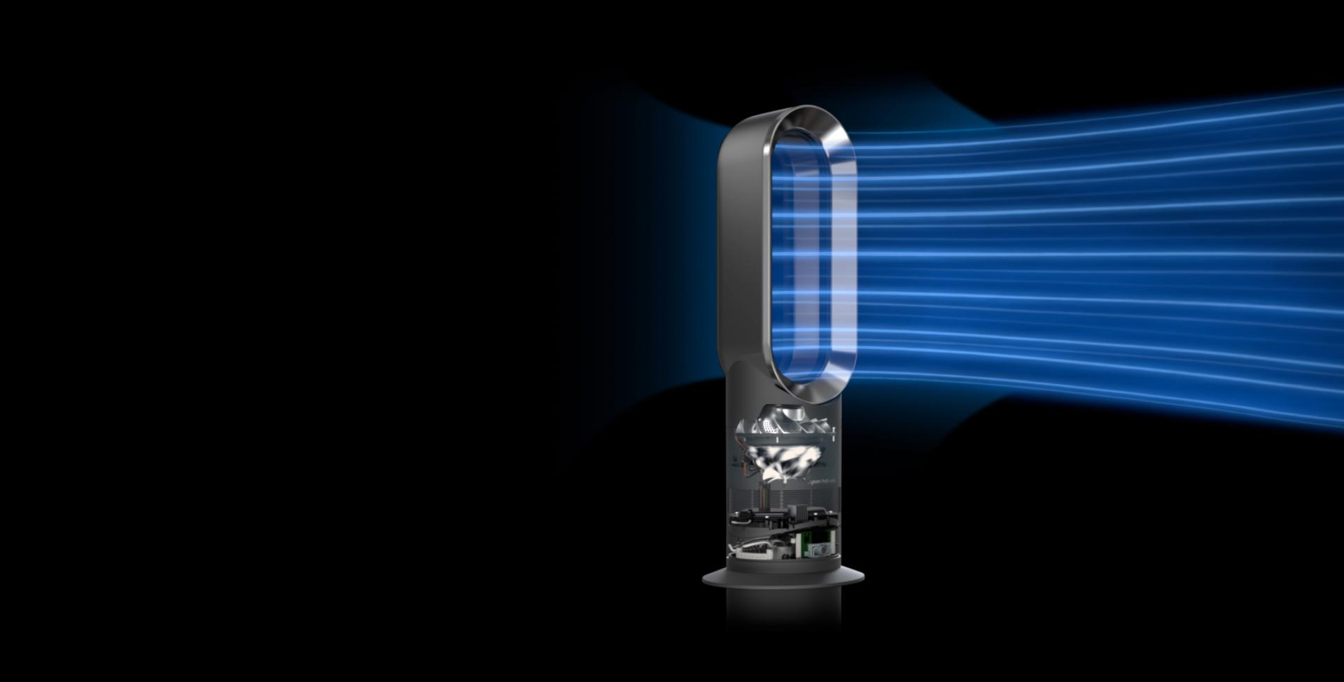 Dyson fan heater airflow schematic