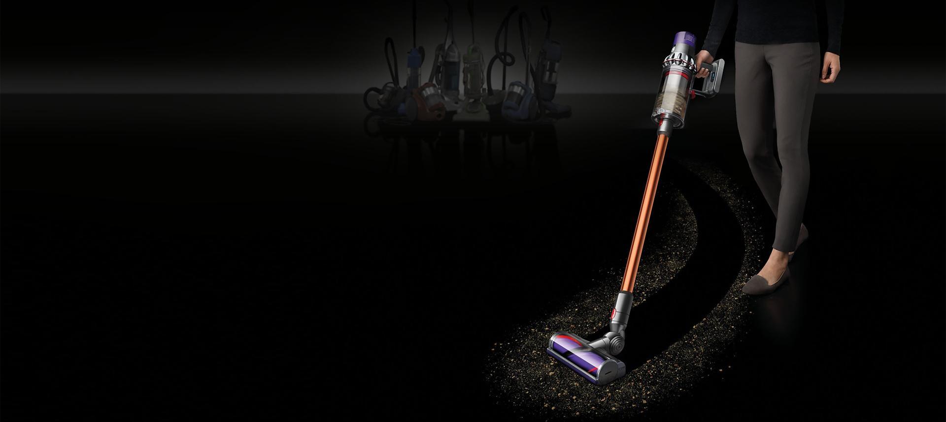 Fără fir. Putere mai mare de aspirare pentru o curățenie profundă.