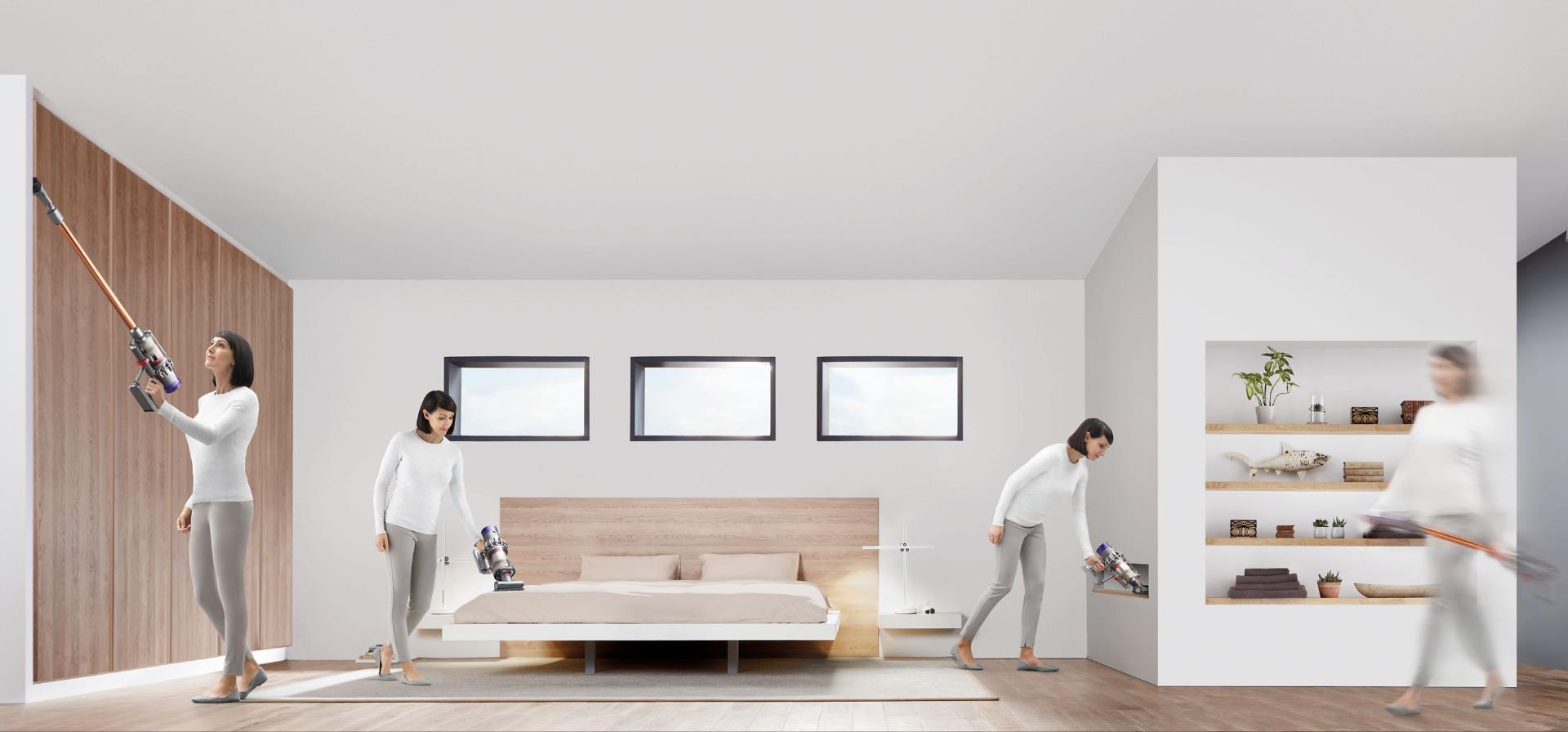 Tehnologia Dyson fără fir face curățenia în întreaga casă mai ușoară
