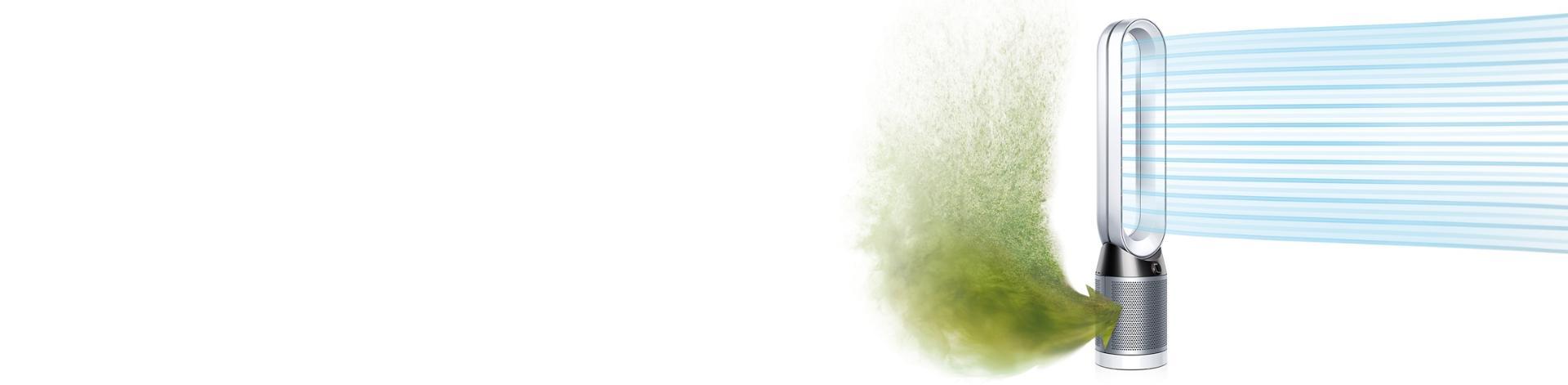 Řada produktů péče o vzduch Dyson