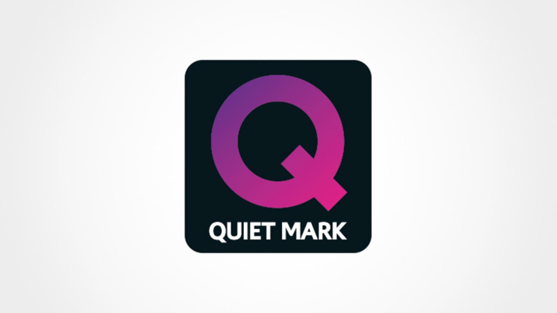 Quiet Mark accreditation Logo