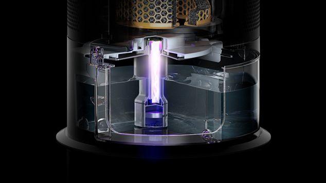 Dyson Ultraviolet Cleanse technology