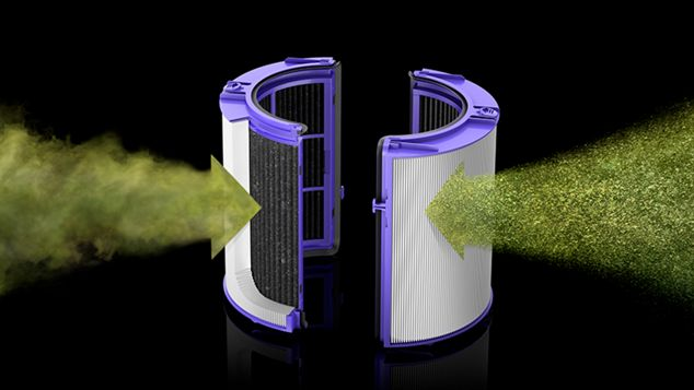 Dyson HEPA and carbon filter