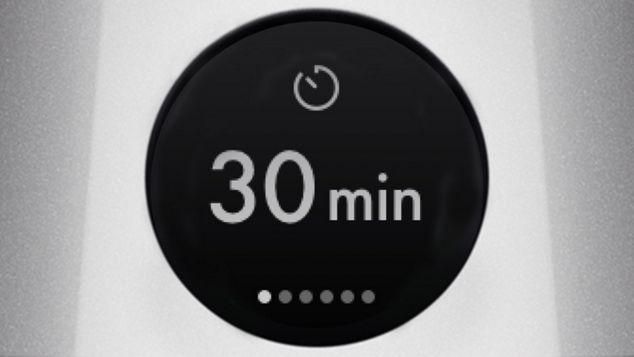 Sleep timer on the LCD screen