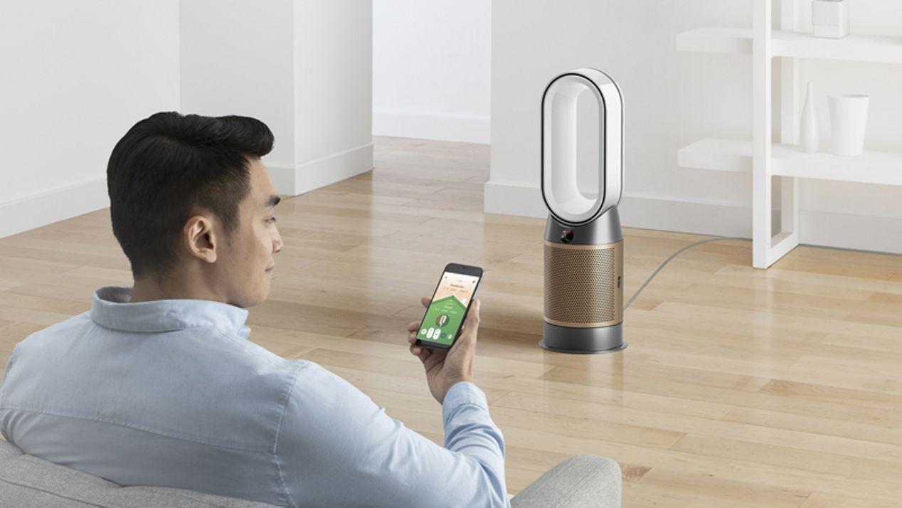 Dyson Link air purifier app