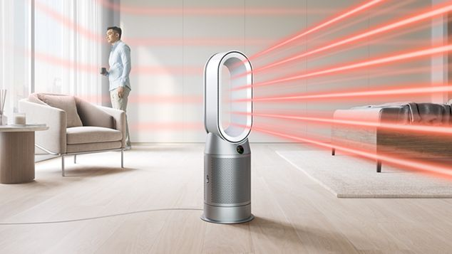 Dyson purifier heating the whole room