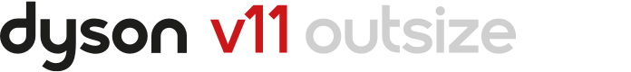 Dyson V11 Outsize Logo