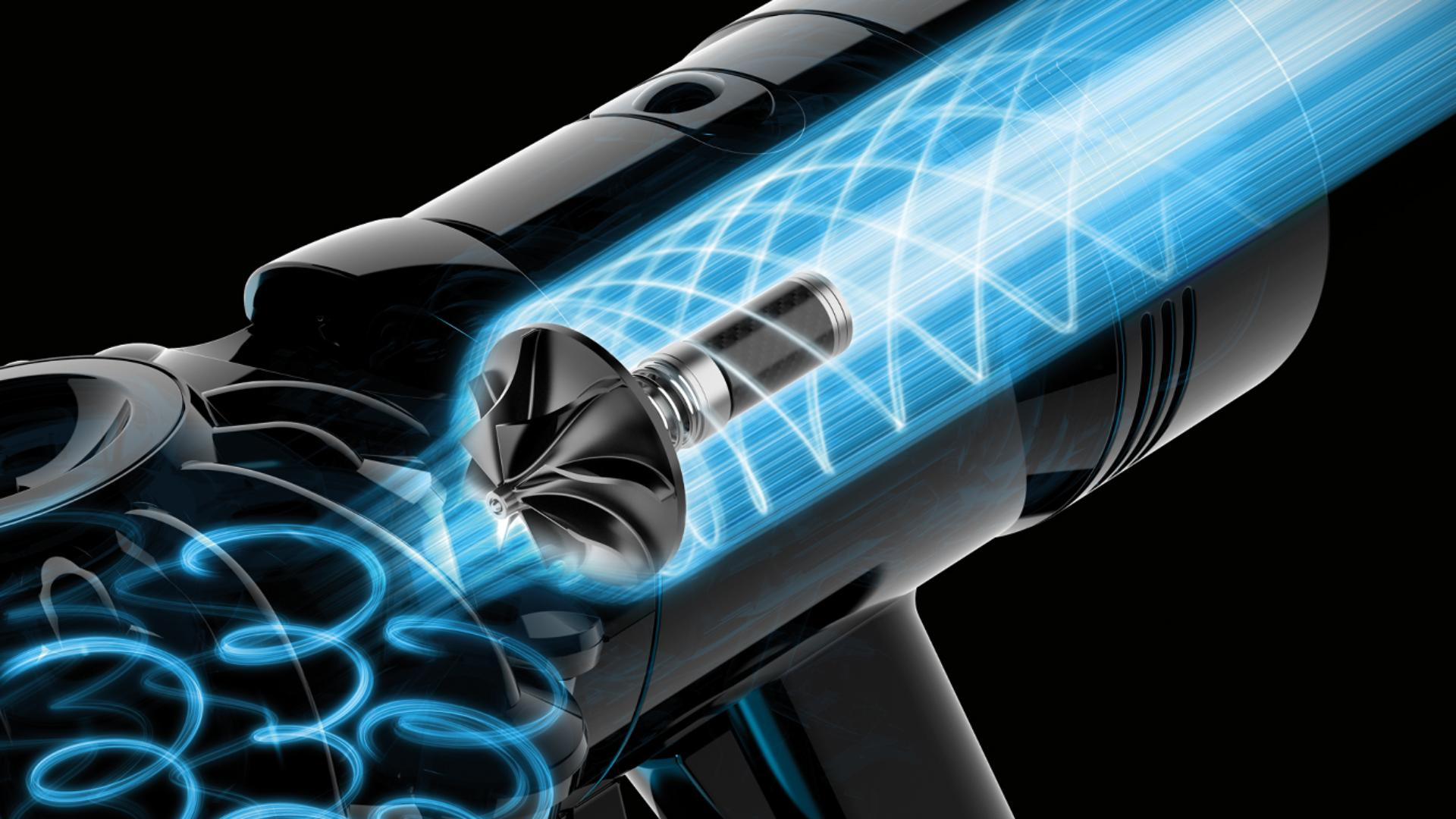 Dyson's V8 digital motor