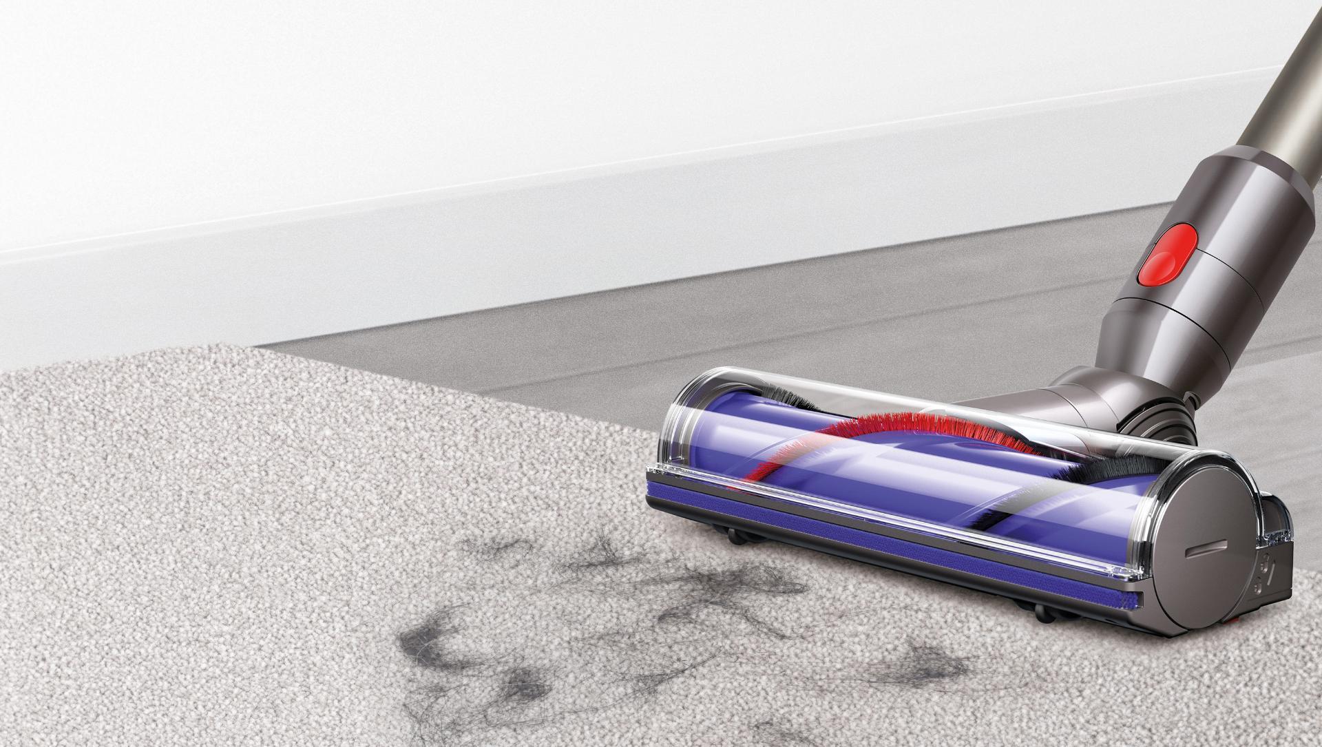 Deep cleans carpets.