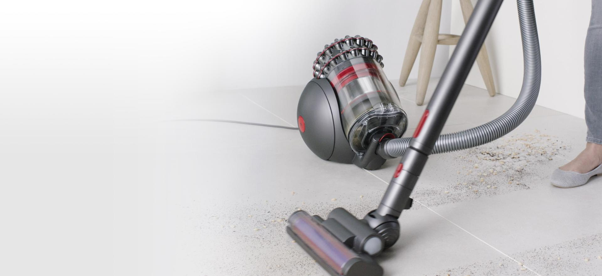 Dyson cylinder vacuum on hardfloor