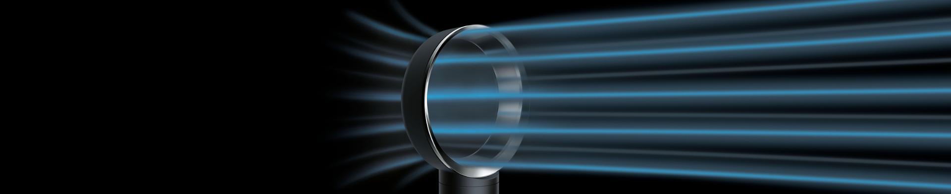 Dyson風扇和氣流的近鏡