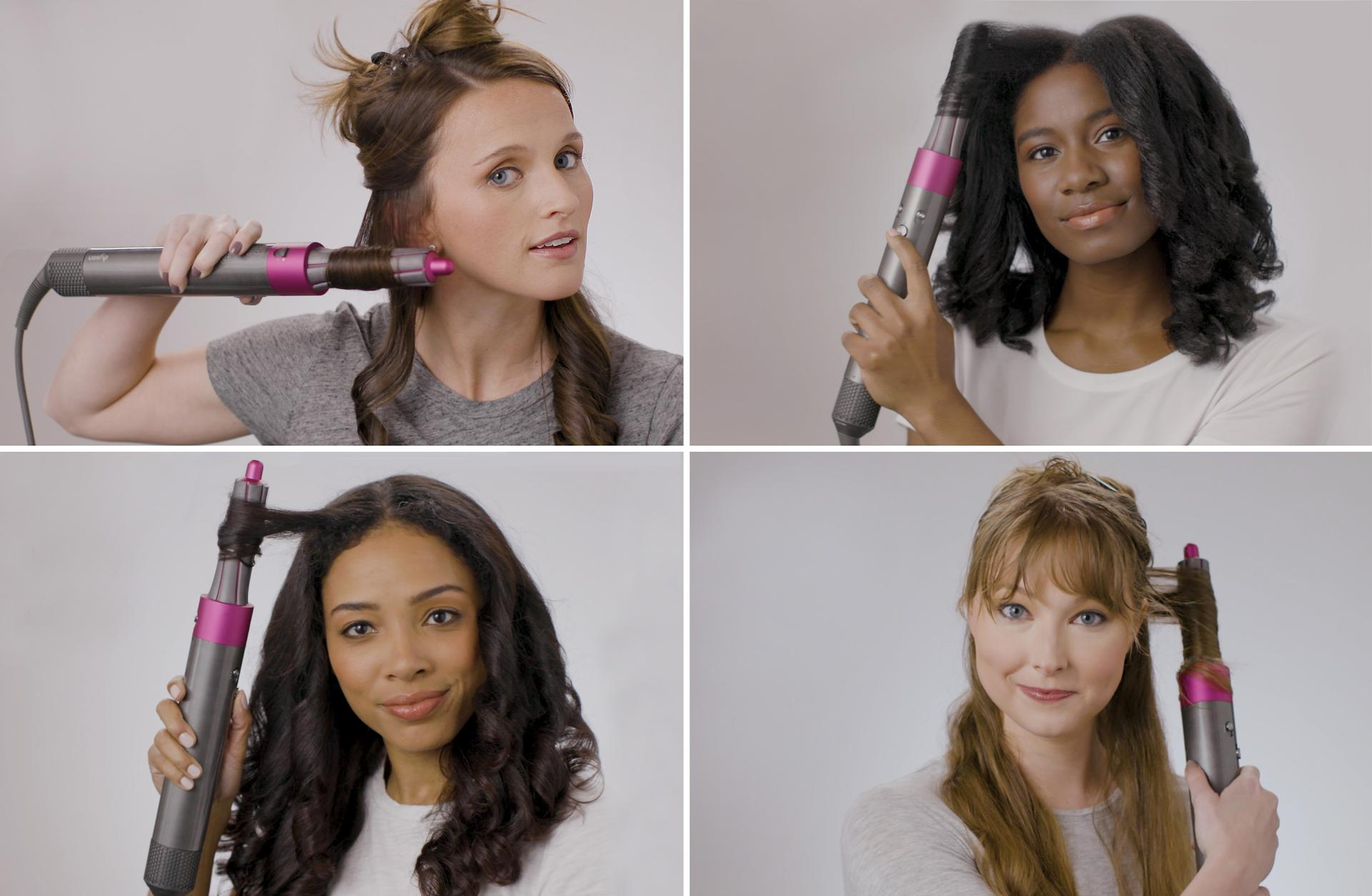 How To Style With Airwrap Dyson Airwrap Hair Styler