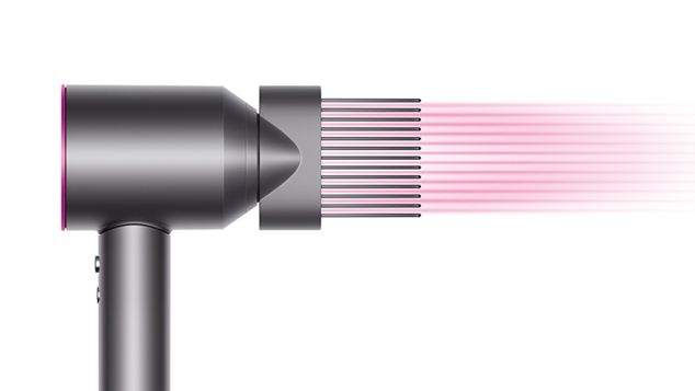 Ve el vídeo «Cómo usar el nuevo accesorio con peine de púas anchas de Dyson»