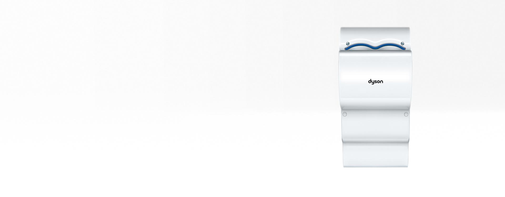 Bílý osoušeč rukou Dyson Airblade dB