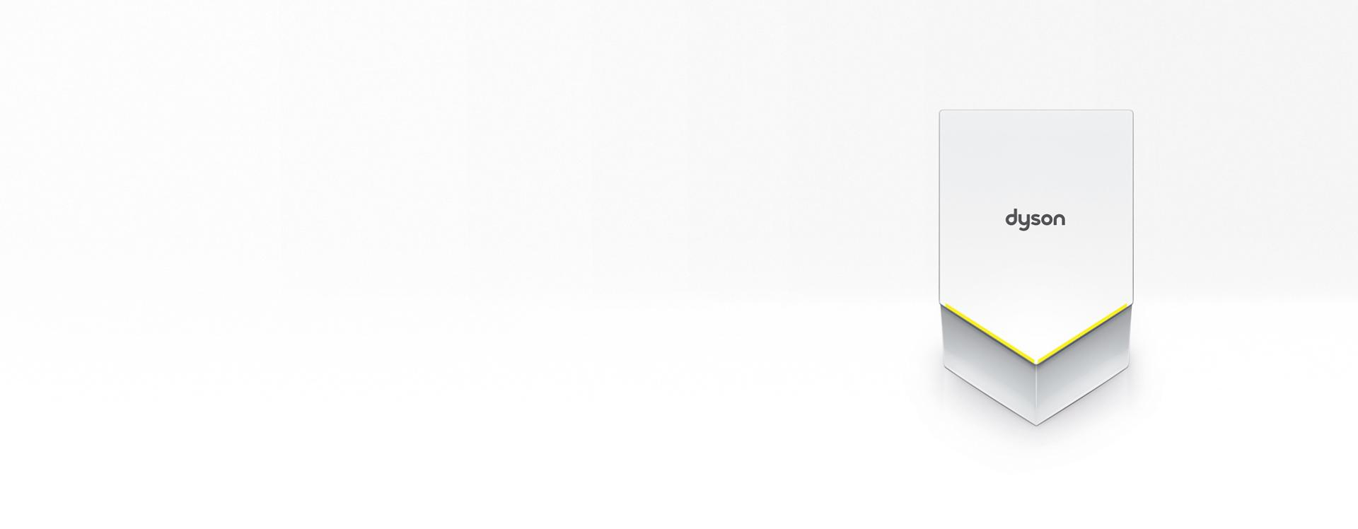 Dyson Airblade V white hand dryer