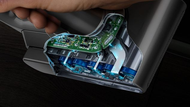 Cutaway of energy-dense battery