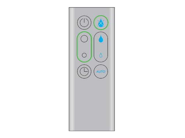 Dyson | Dyson humidifier (Iron/Blue)