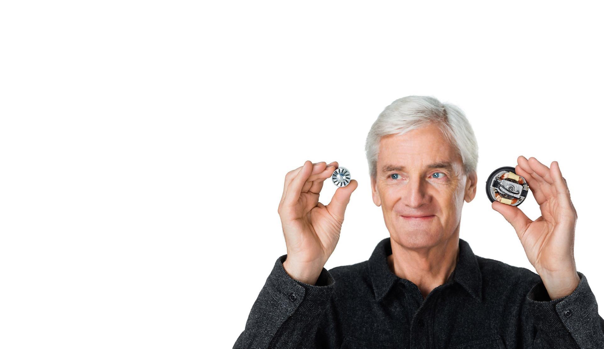 Dyson dijital motoru tutan James Dyson