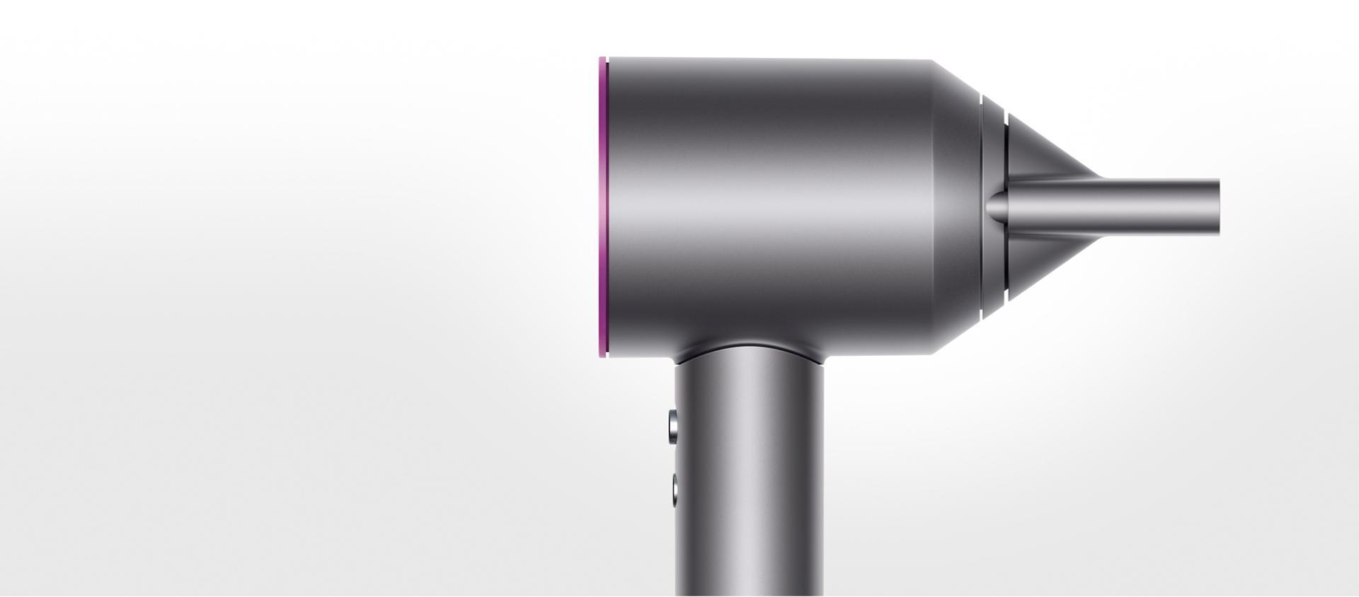Düzleştirici başlık aparatı ile birlikte Dyson Supersonic ™ saç kurutma makinesi