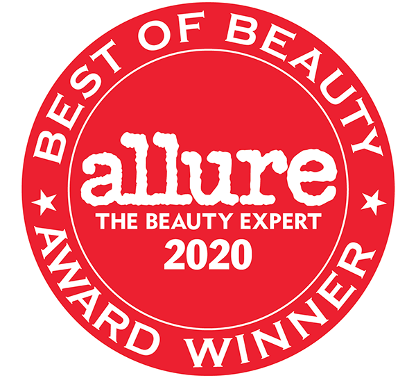 Allure Best of Beauty award 2020.